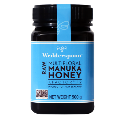 Wedderspoon Raw Manuka Honey K 12+ 500 gm