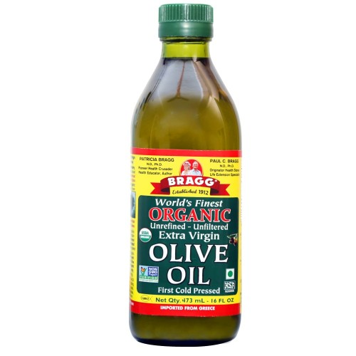 Bragg Organic Extra Virgin Olive Oil 16 oz, 500 ml
