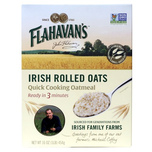 Flahavans Irish Oatmeal - 454 g, Rolled Oats from Flahavans Ireland