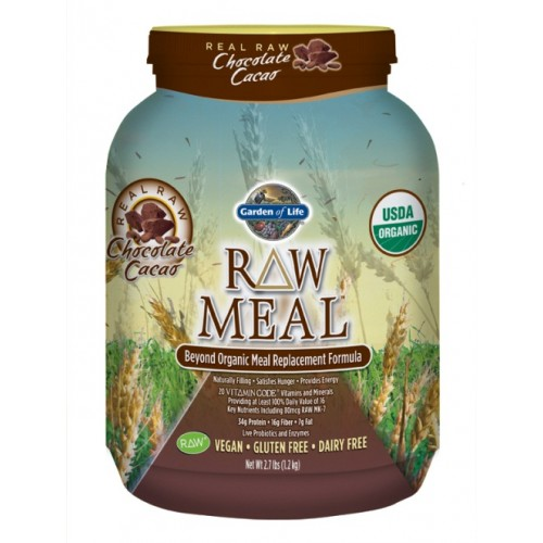Garden of Life Raw Organic Meal, Chocolate Cacao (1212 gm)