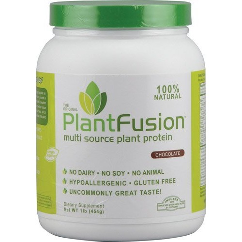 PlantFusion Plant Protein Chocolate 1 lb, Multi Source Plant Protein