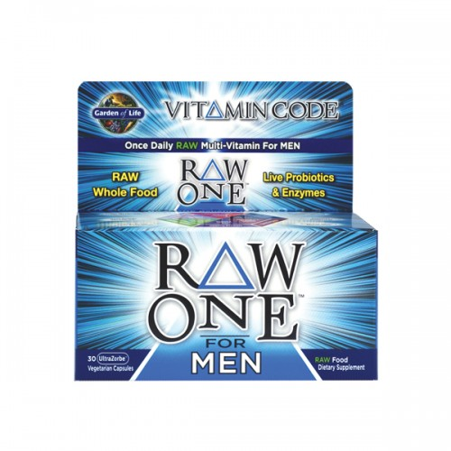 Garden of life vitamin code raw one for men 30 ct - Garden of life multivitamin for men ...