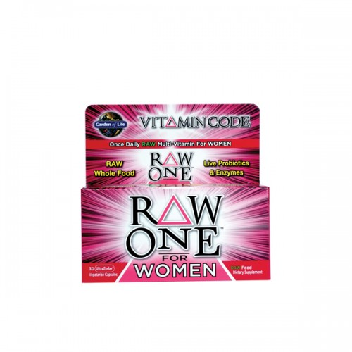 Garden Of Life Vitamin Code Raw One For Women 30 Ct