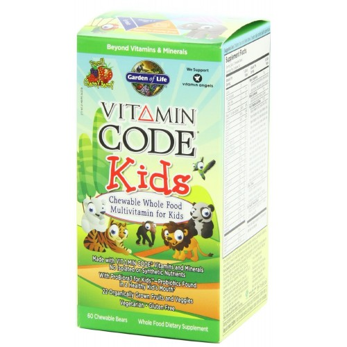 Garden of Life Vitamin Code Kids - 60 ct