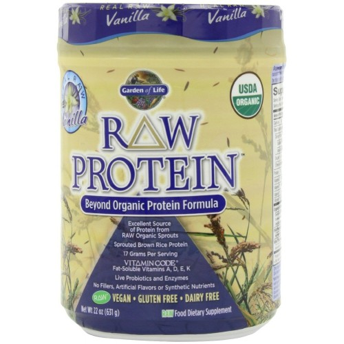 Garden Of Life Raw Organic Protein Vanilla 631 Gm