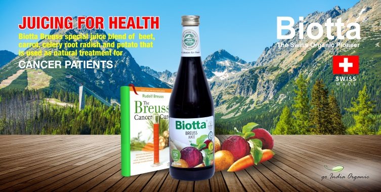 BIOTTA BREUSS ORGANIC VEGETABLE JUICE