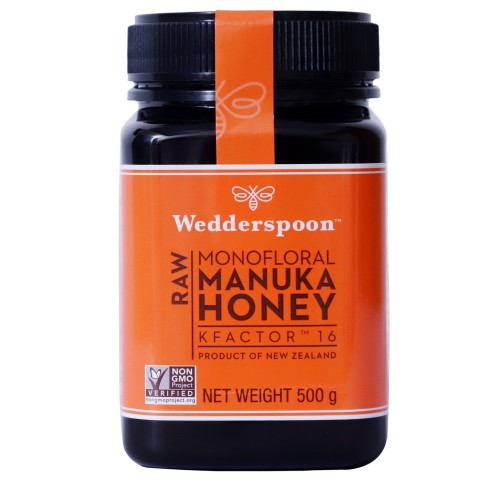 Wedderspoon Premium Raw Manuka Honey Active K Factor 16 (500 gm)