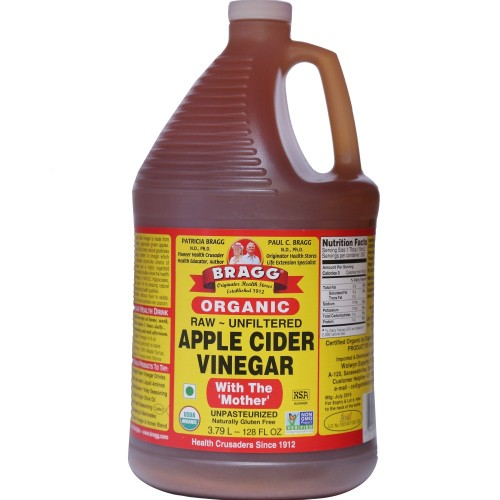 Bragg Organic Apple Cider Vinegar – (128 oz Jar)