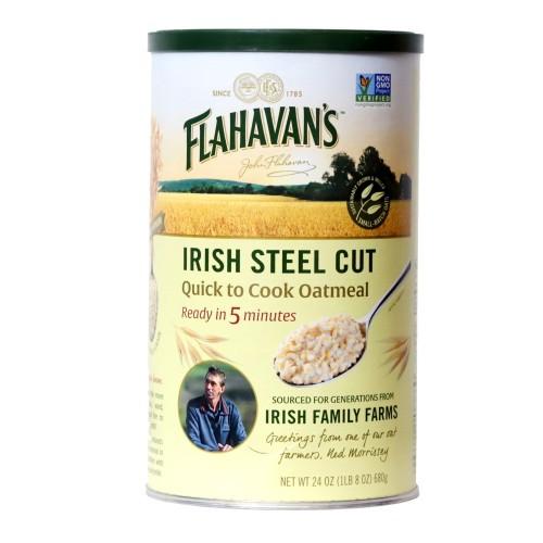 Flahavans Irish Steel Cut Oatmeal Quick to Cook 24 oz (680g)