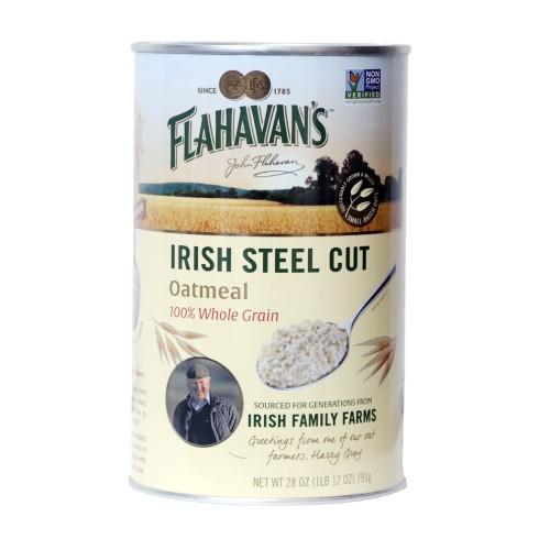 Flahavans Irish Steel Cut Oatmeal 28 oz (793g)