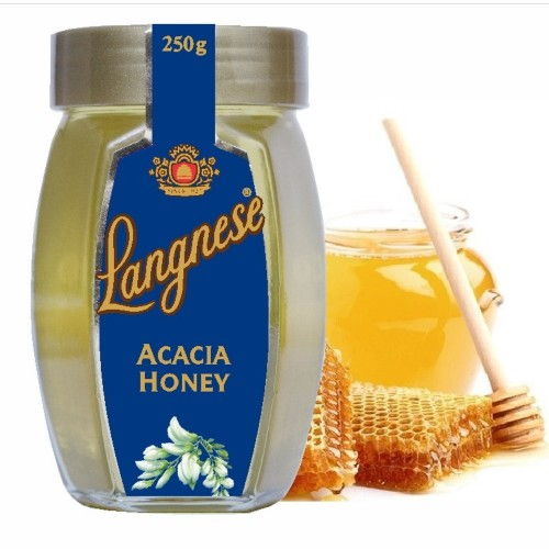Langnese Pure Bee Acacia Honey 250 gm, Raw Honey from Langnese Germany