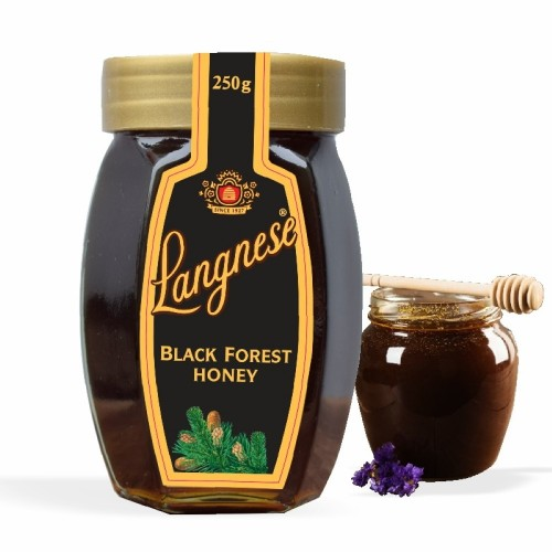 Langnese 100% Pure Black Forest Honey 250 gm, Pure Bee Honey from Langnese Germany