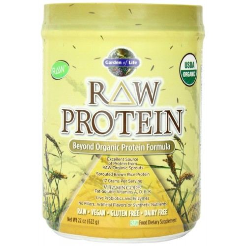 Garden of life raw organic protein 622 grams for Garden of life raw protein and greens