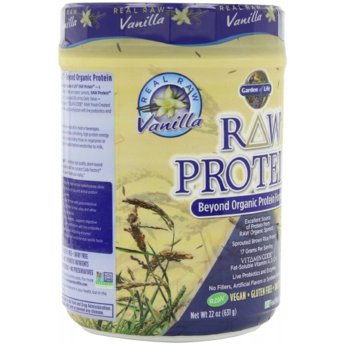 Garden Of Life Raw Organic Protein Vanilla Plant Based Protein Powder